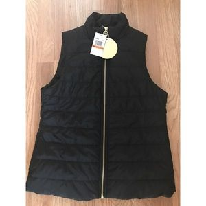NWT quilted zipper vest